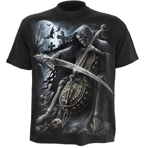 Spiral Men's SYMPHONY OF DEATH T-Shirt - Black