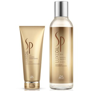 Wella SP Luxe Oil Keratin Protect Shampoo and Conditioner (200ml)