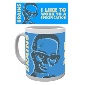 Thunderbirds Classic Brains Mug