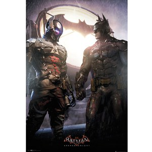 DC Comics Batman Arkham Knight and Batman - Maxi Poster - 61 x 91.5cm