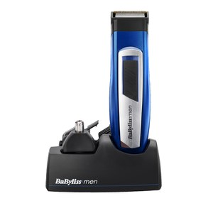 BaByliss For Men 6 in 1 Titanium Barttrimmer - Blue