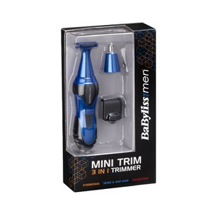 BaByliss For Men Mini Trimmer - Blue: Image 2