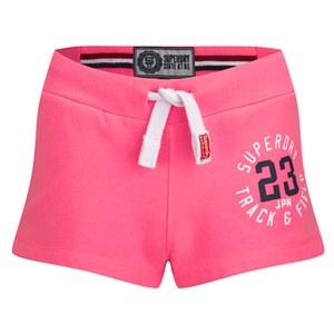 Superdry Women's Trackster Lightweight Shorts - Neon Pink