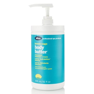 bliss Lemon and Sage Body Butter Pro-Size (946 ml)