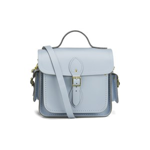 The Cambridge Satchel Company Traveller Bag with Side Pocket - Alpine Blue