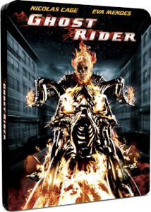Ghost Rider: el motorista fantasma - Steelbook Ed. Limitada Exclusivo de Zavvi