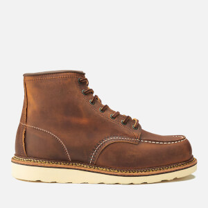 Red Wing Men's 6 Inch Moc Toe Double Welt Leather Lace Up Boots - Copper Rough and Tough: Image 1