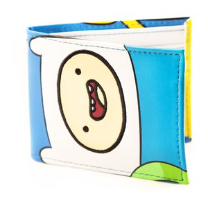 Adventure Time Finn and Jake Faces Full Colour Bi-Fold Wallet