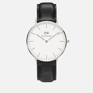 Daniel Wellington Women's Sheffield Silver Watch - Black