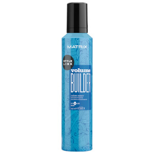 Matrix Style Link Volume Builder Mousse for Fine, Flat Hair 247ml