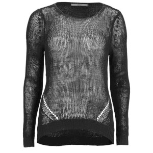 ONLY Women's Assisi Light Knitted Jumper - Black