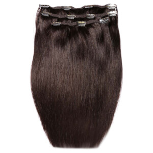 Extensiones de cabello Deluxe Clip-In de 45,7 cm de Beauty Works - Raven 2