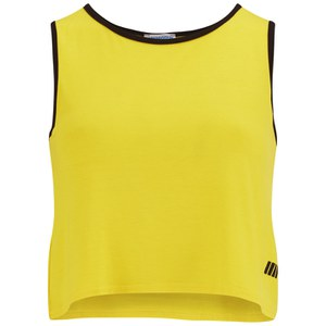Myprotein Women's Cropped Vest, Yellow