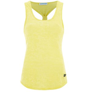 Myprotein Women's Racer Back Vest, Yellow