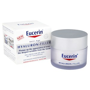Eucerin® Anti-Age Hyaluron-Filler Day Cream for Dry Skin SPF15 + UVA Protection (50 ml)