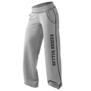 Better Bodies Baggy Soft Pants - Grey Melange