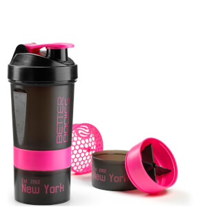 Better Bodies BB Pro Shaker 600 - Black/Pink