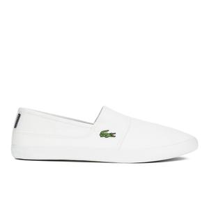 Lacoste Men's Marice LCR SPM Plimsols - White/White