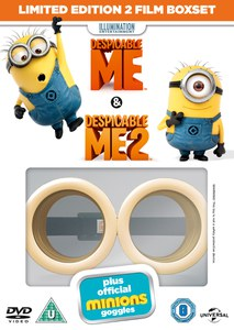 Despicable Me 1 & 2 Minion Limited Edition Goggles