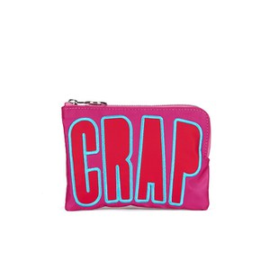 House of Holland Women's Nylon Crap Clutch - Pink
