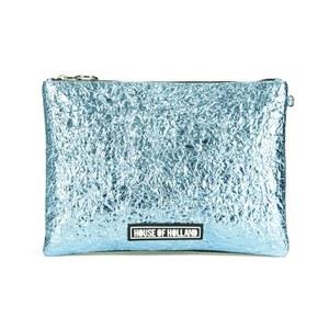House of Holland Women's Cuki Patch Clutch - Blue