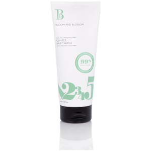 Gel de baño suave para bebés de Bloom and Blossom (150 ml)