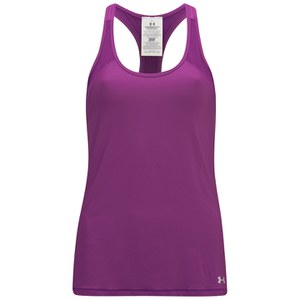 Canotta Under Armour HeatGear da Donna - Melanzana