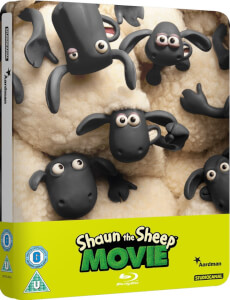 Shaun the Sheep - Zavvi Exclusive Limited Edition Steelbook (Limited to 2000) (UK EDITION)