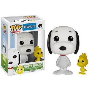 Peanuts Snoopy and Woodstock Pop! Vinyl Figure