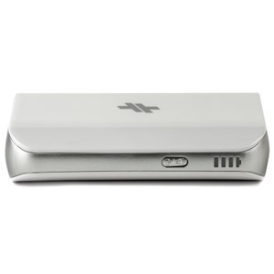 Swiss Mobility Universal Power Pack 4000mAh Battery Pack for iOS, Android & USB Devices -White