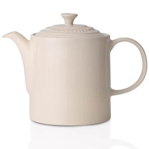 Le Creuset Stoneware Grand Teapot - Almond