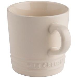 Le Creuset Stoneware Cappuccino Mug, 200ml - Almond