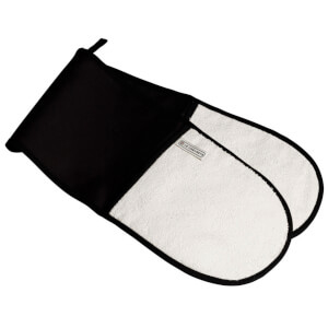 Le Creuset Textiles Double Oven Gloves - Black