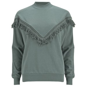 Selected Femme Women's Lisa Sweatshirt - Stormy Weather