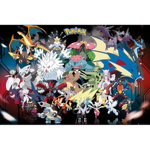 Pokemon Mega Maxi Poster 61 x 91.5cm