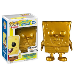 Nickelodeon SpongeBob SquarePants Golden SpongeBob Pop! Vinyl Figure