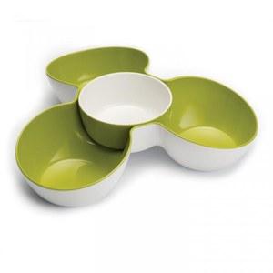 Joseph Joseph Triple Dish Set - White/Green