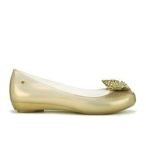 Disney Cinderella for Melissa Women's Ultragirl Ballet Flats - Gold