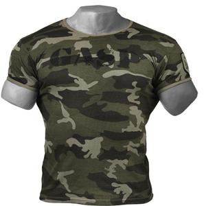 GASP Ribbed T-Shirt - Grey Camoprint