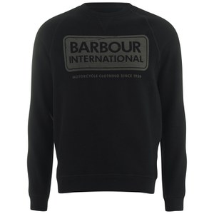 Barbour International Men's Logo Sweatshirt - Black