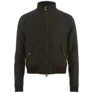 Barbour X Steve McQueen Men's Merchant Wax Jacket - Olive