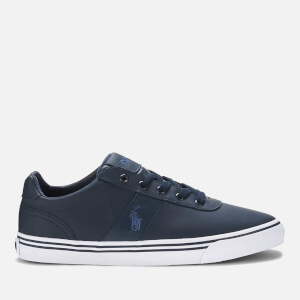 Polo Ralph Lauren Men's Hanford Leather Trainers - Navy