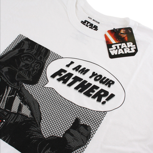 Star Wars Men's I Am Your Father T-Shirt - White: Image 2