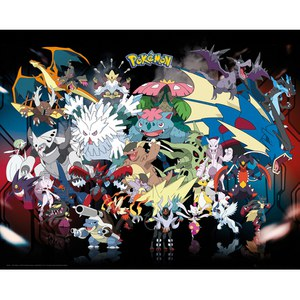 Pokémon Mega - 16 x 20 Inches Mini Poster
