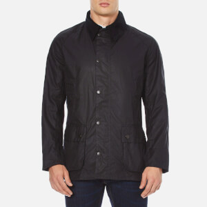 Barbour Heritage Men's Ashby Wax Jacket - Navy