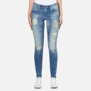 Maison Scotch Women's La Parisienne Venice Blue Jeans - Blue