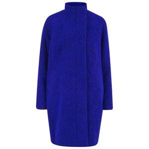 Samsoe & Samsoe Women's Hoff Coat - Electric Blue