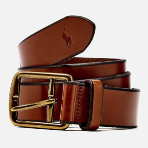 Polo Ralph Lauren Men's Casual Belt - Saddle Brown