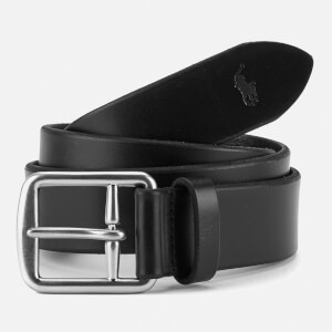 Polo Ralph Lauren Men's Saddle Leather Belt - Black