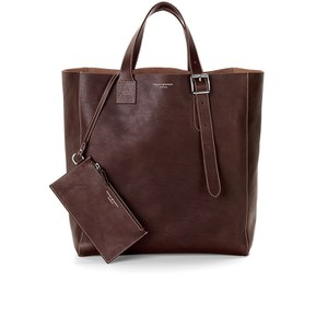 Aspinal of London 'A' Tote Bag - Smooth Brown